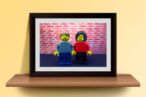 Customized LEGO Print