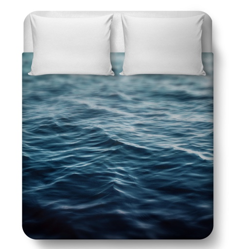Dark Waters - Duvet Cover