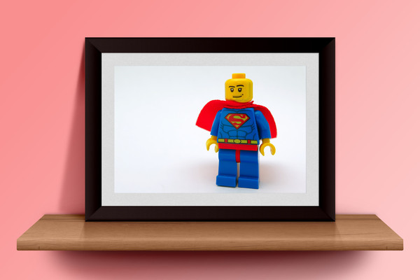Superhero LEGO Custom Print