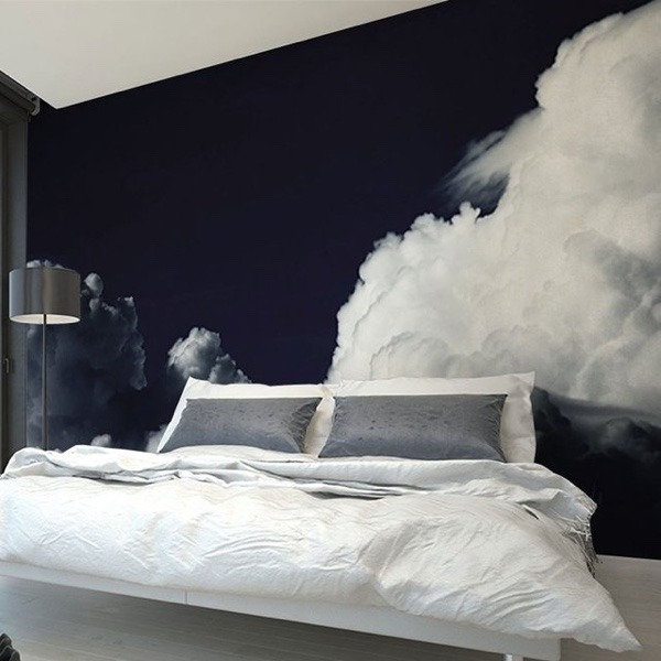 Dark Clouds Wall Decal