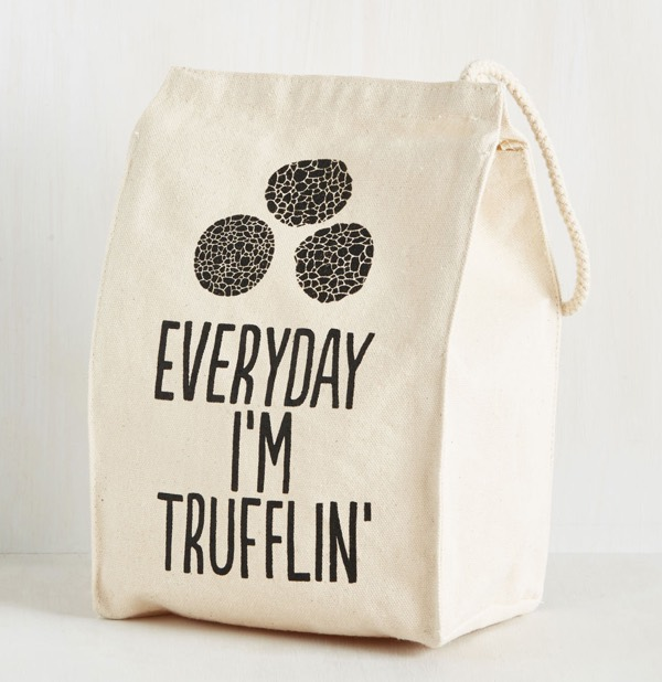 Everyday I'm Trufflin Lunch Bag