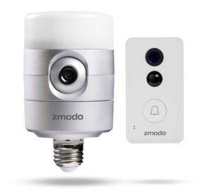 Zmodo Torch Pro - Smart Door Light and Connected Doorbell