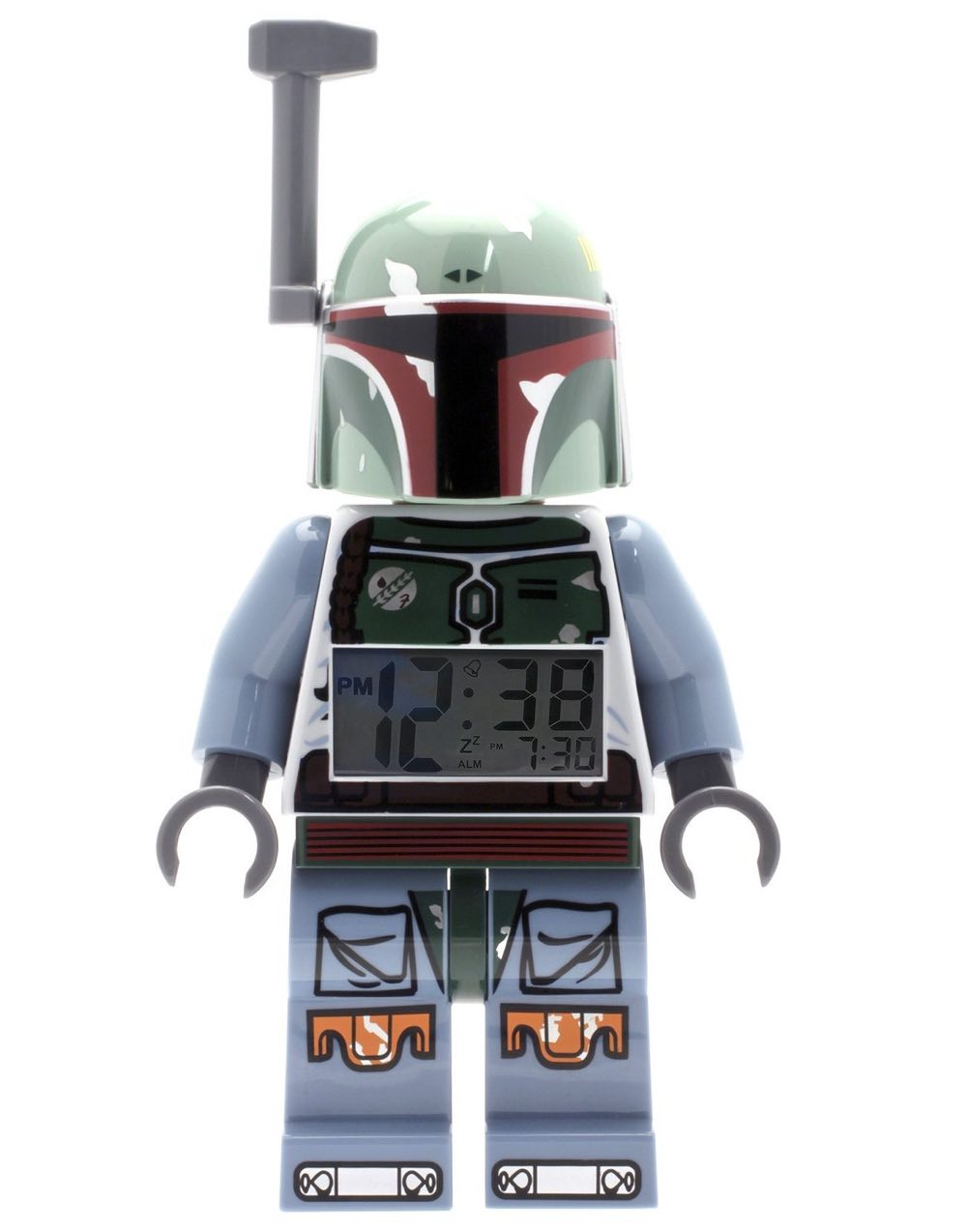 LEGO Kids' Star Wars Mini-Figure Alarm Clock