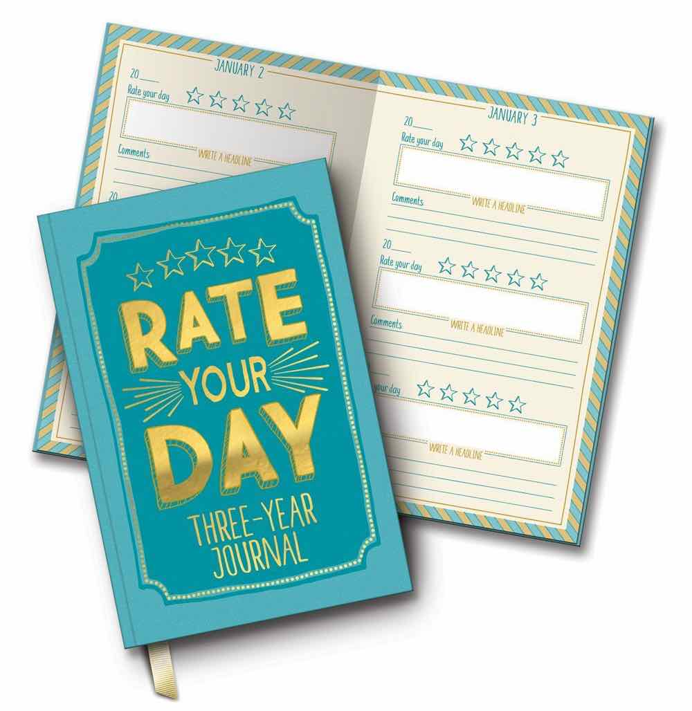 Rate Your Day Three-Year Journal