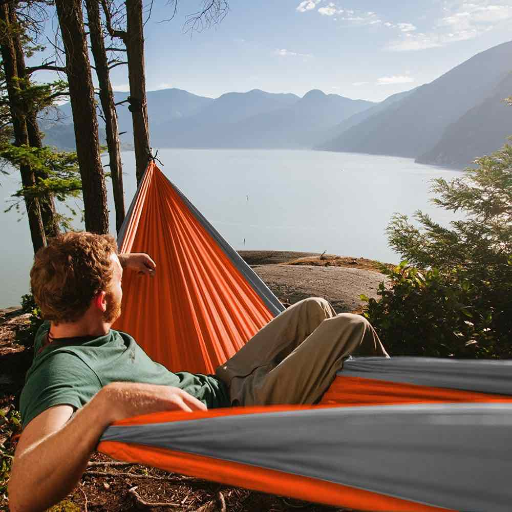 Medium image of neolite trek portable camping hammock