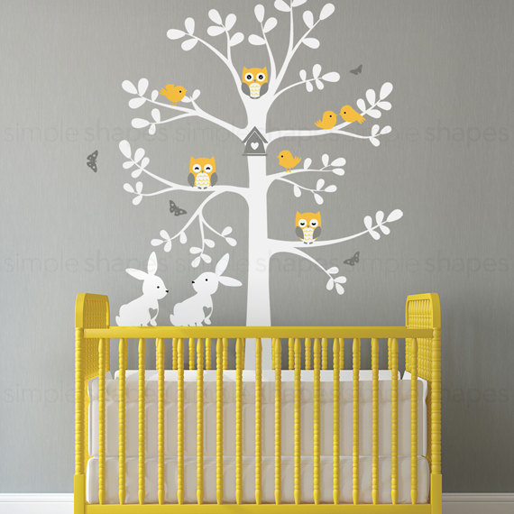 Fabulous Tree Nursery Wall Decal