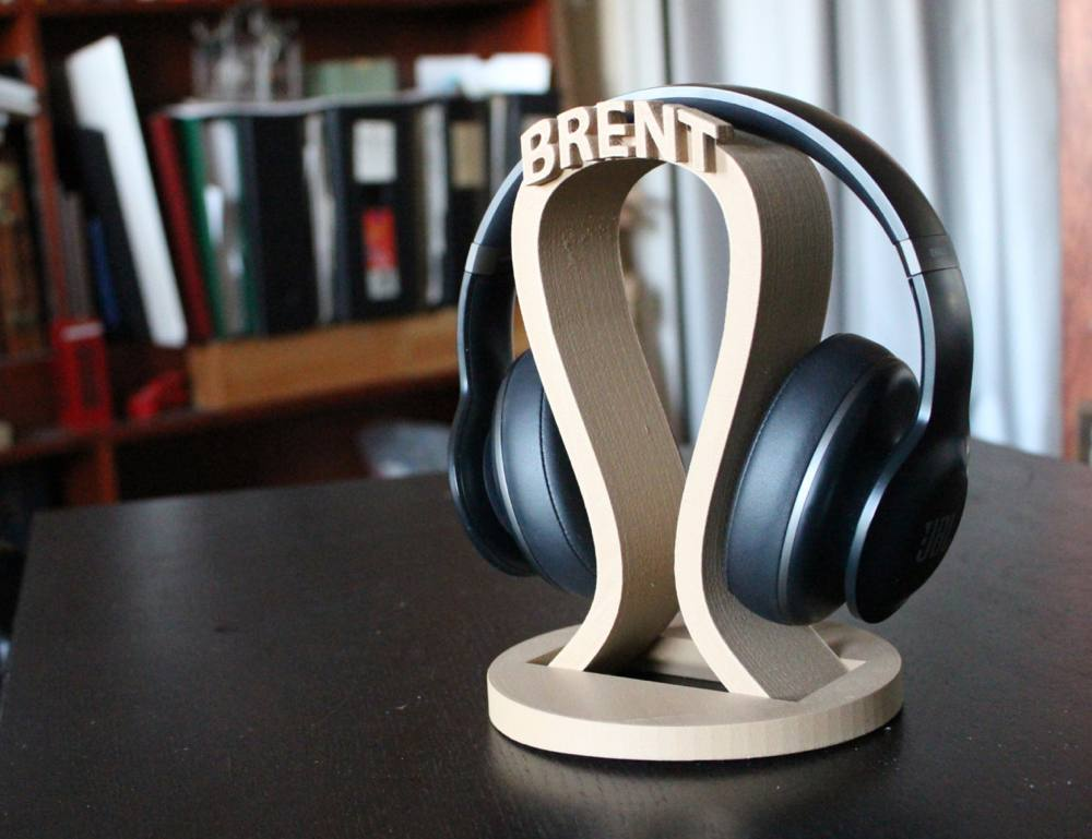 Custom Headphone Stand with your name