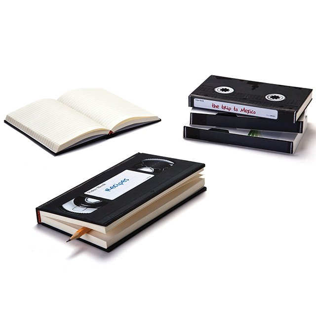 VHS Video Notebook by Monkey Business