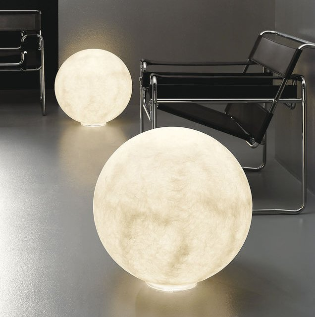 Floor Moon Lamp