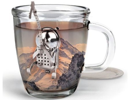 Cliff the Climber Tea Infuser and Dip Tray