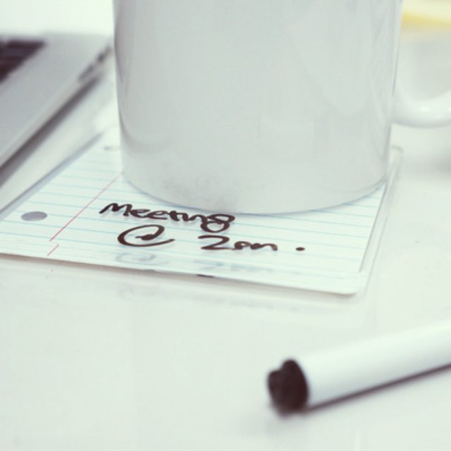 Writable Coaster Pads
