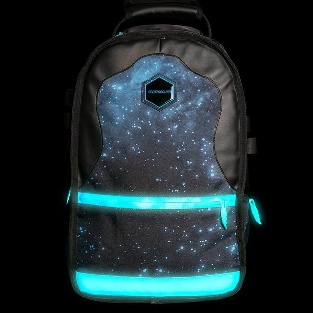 Gammaxy Glow-in-the-dark Backpack by Sprayground