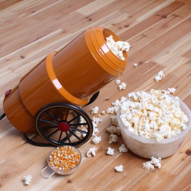 Cannon Popcorn Maker