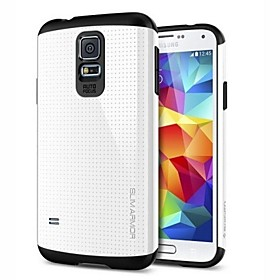 Slim Armor PC with TPU Combo Shell Back Cover  for Samsung Galaxy S5 I9600(Assorted Colors)